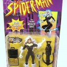 SPIDERMAN ANIMATED SERIES BLACK CAT ACTION FIGURE 1996 TOYBIZ