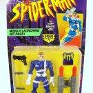 SPIDERMAN ANIMATED SERIES NICK FURY ACTION FIGURE 1995 TOYBIZ