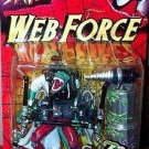 SPIDERMAN WEB FORCE SPIDER-SMASH LIZARD ACTION FIGURE 1997 TOYBIZ