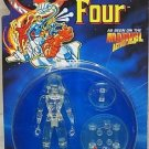 FANTASTIC FOUR ANIMATED SERIES INVISIBLE WOMAN CLEAR VARIANT ACTION FIGURE 1995 TOYBIZ