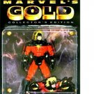 MARVEL COMICS MARVEL GOLD COLLECTOR'S EDITION SERIES CAPTAIN MARVEL FIGURE 1997 TOYBIZ AVENGERS