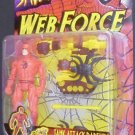 SPIDERMAN WEB FORCE TANK ATTACK DAREDEVIL ACTION FIGURE 1997 TOYBIZ