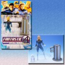 FANTASTIC FOUR MOVIE SERIES 3 POWER BLAST PHASING INVISIBLE WOMAN FIGURE 2005 TOYBIZ MARVEL LEGENDS