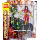 MARVEL SELECT 2006 RED SPIDERWOMAN ACTION FIGURE DIAMOND SELECT LEGENDS AVENGERS