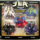 JLA WORLD'S GREATEST DC COMICS SUPER HEROES COLLECTION 3 ACTION FIGURE 5 PACK 1999 HASBRO