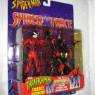 SPIDERMAN SPIDER FORCE TARANTULA ACTION FIGURE 1997 TOYBIZ