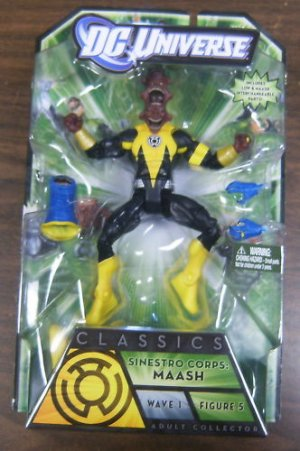 DC UNIVERSE GREEN LANTERN CLASSICS MAASH ACTION FIGURE ARKILLO SERIES WAVE 1 MATTEL UNOPENED