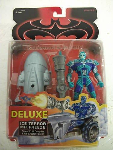 Batman Amp Robin Movie Deluxe Ice Terror Mr Freeze Action