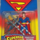 SUPERMAN MAN OF STEEL POWER FLIGHT SUPERMAN ACTION FIGURE 1995 KENNER HASBRO