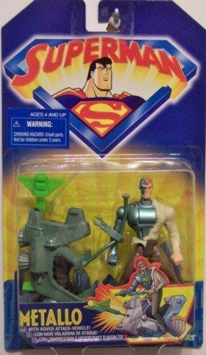 superman animated metallo action figure 1998 kenner hasbro