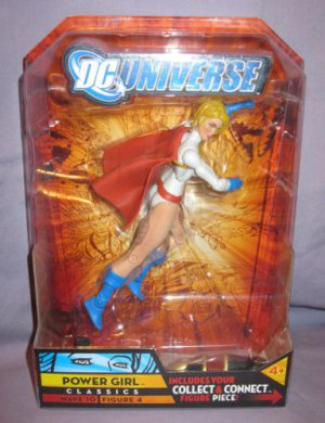 DC UNIVERSE CLASSICS WALMART EXCLUSIVE POWERGIRL ACTION FIGURE IMPERIEX SERIES WAVE 10 MATTEL