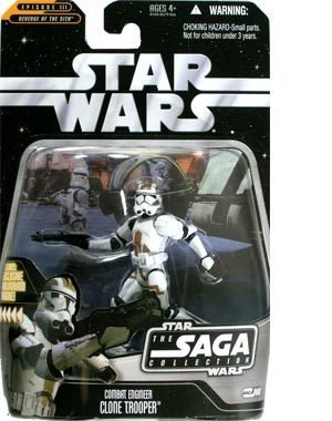 Star Wars Saga Collection Revenge Of The Sith Combat Engineer Clone Trooper Action Figure
