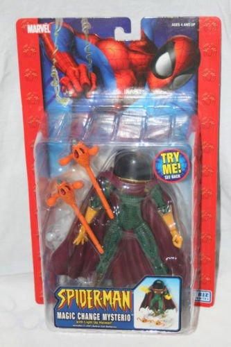 Marvel Legends Spiderman Classics Magic Change Mysterio