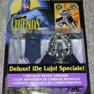 LEGENDS OF BATMAN DELUXE SILVER KNIGHT BATMAN ACTION FIGURE 1994 KENNER HASBRO SPANISH VERSION