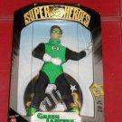 DC SUPERHEROES SILVER AGE GREEN LANTERN 9 INCH ACTION FIGURE 1999 HASBRO MEGO