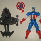 SPIDERMAN ELECTRO SPARK LOOSE CAPTAIN AMERICA ACTION FIGURE 1997 TOYBIZ