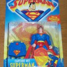 SUPERMAN ANIMATED CAPTURE NET SUPERMAN ACTION FIGURE 1996 KENNER HASBRO
