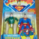 SUPERMAN ANIMATED QUICK CHANGE SUPERMAN ACTION FIGURE 1996 KENNER HASBRO