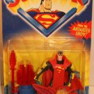 SUPERMAN ANIMATED FORTRESS OF SOLITUDE SUPERMAN ACTION FIGURE 2001 KENNER HASBRO