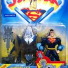 SUPERMAN ANIMATED DELUXE CITY CAMO SUPERMAN ACTION FIGURE 1998 KENNER HASBRO