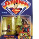 SUPERMAN ANIMATED DELUXE KRYPTONITE ESCAPE SUPERMAN ACTION FIGURE 1998 KENNER HASBRO