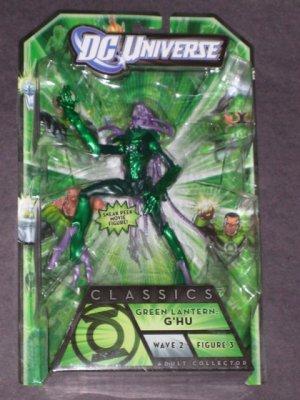 DC UNIVERSE GREEN LANTERN CLASSICS G'HU ACTION FIGURE STEL SERIES WAVE 2 MATTEL BRAND NEW UNOPENED
