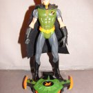 BATMAN DC SUPERHEROES LOOSE BATTLE BOARD ROBIN GREEN VARIANT ACTION FIGURE 2003 MATTEL