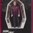 STAR TREK 1995 HALLMARK KEEPSAKE CHRISTMAS ORNAMENT CAPTAIN JEAN LUC PICARD