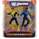 DC UNIVERSE CLASSICS YELLOW LANTERN HAL JORDAN vs BLUE LANTERN KYLE RAYNER ACTION FIGURE 2 PK MATTEL