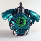 DC UNIVERSE GREEN LANTERN CLASSICS LOOSE STEL UPPER TORSO BUILD A FIGURE PIECE ONLY SERIES 2 MATTEL