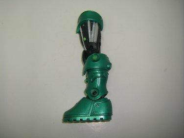 DC UNIVERSE GREEN LANTERN CLASSICS LOOSE STEL LEFT LEG BUILD A FIGURE PIECE ONLY SERIES 2 MATTEL