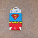 DC COMICS OFFICIALLY LICENSED SUPERMAN FOAM CAN HUGGER JLA JLU UNIVERSE SUPERFRIENDS NEW