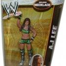 WWE ELITE COLLECTION SERIES #21 AJ A J LEE ACTION FIGURE DAMAGED PACKAGE MATTEL 2013 WRESTLING DIVA