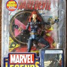 MARVEL LEGENDS SERIES WAVE 8 BLACK WIDOW REDHEAD W/ DISPLAY STAND BASE & COMIC BOOK 2005 TOYBIZ