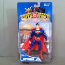 HASBRO 1999 DC SUPERHEROES UNIVERSE SUPERMAN 6 INCH ARTICULATED ACTION FIGURE AND DISPLAY STAND BASE