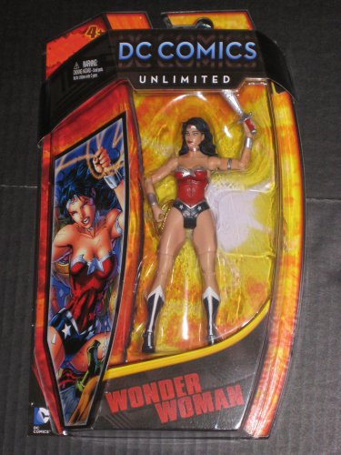 DC COMICS UNIVERSE UNLIMITED SERIES 2 NEW 52 WONDER WOMAN ACTION FIGURE 2013 MATTEL CLASSICS