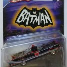 HOT WHEELS 2007 BATMAN BATMOBILE FROM 1966 TV SERIES 1:50 SCALE DIE CAST VEHICLE