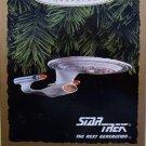 STAR TREK 1993 HALLMARK KEEPSAKE CHRISTMAS ORNAMENT U.S.S. ENTERPRISE NCC-1701-D THE NEXT GENERATION