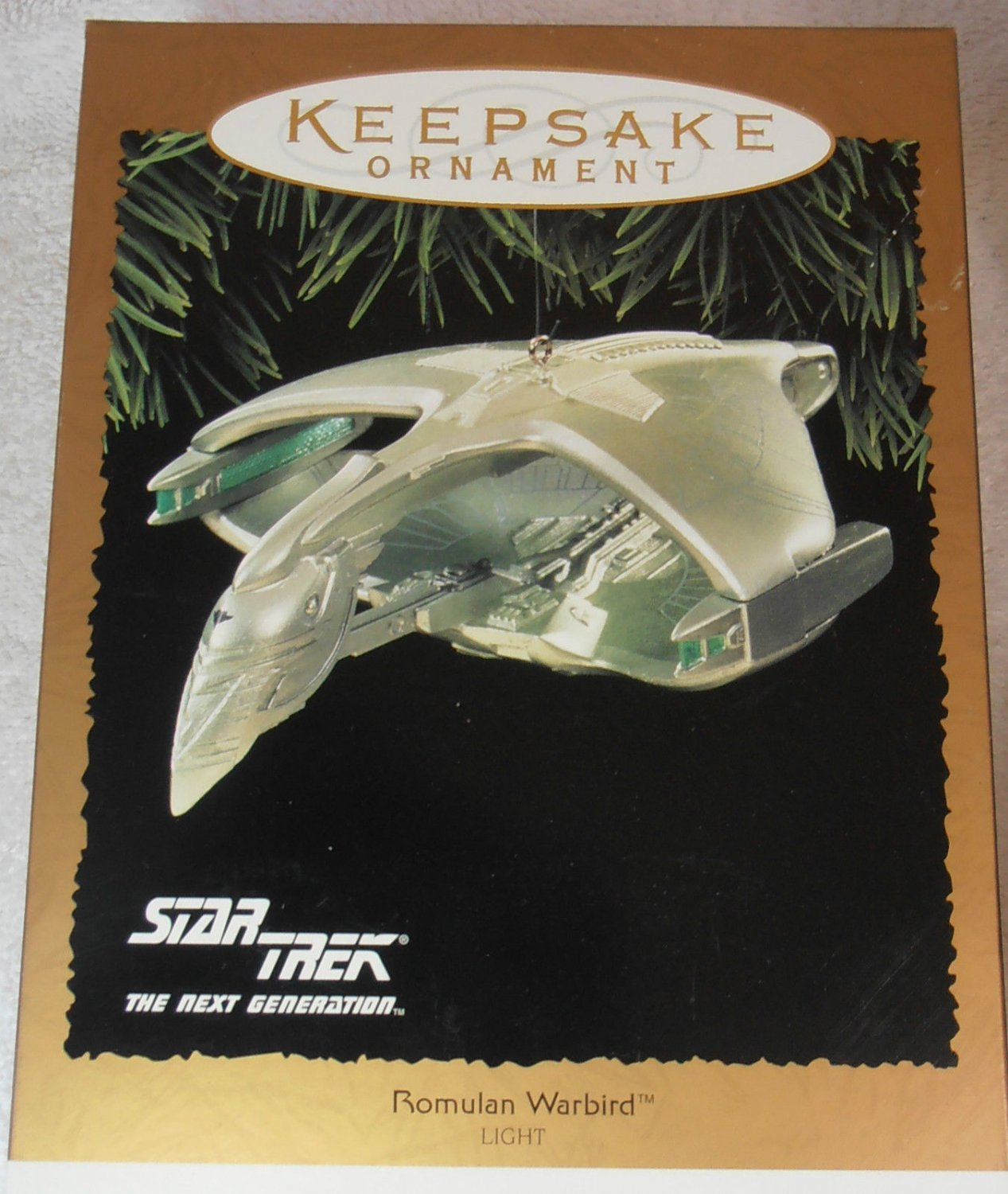 star trek 1995 hallmark keepsake christmas ornament