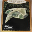 STAR TREK 1995 HALLMARK KEEPSAKE CHRISTMAS ORNAMENT ROMULAN WARBIRD THE NEXT GENERATION