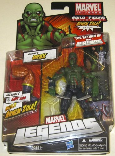 MARVEL LEGENDS ARNIM ZOLA SERIES WAVE 2 DRAX THE DESTROYER GUARDIANS OF THE GALAXY 2012 HASBRO