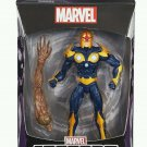 MARVEL LEGENDS INFINITE SERIES GUARDIANS OF THE GALAXY NOVA ACTION FIGURE GROOT WAVE 2014 MOVIE ARM