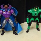 DC SUPERHEROES LOOSE GREEN LANTERN VS DR POLARIS 5 INCH SCALE ACTION FIGURE 2 PACK 1999 HASBRO