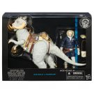 STAR WARS BLACK SERIES HAN SOLO & TAUNTAUN 6 IN DELUXE ACTION FIGURE 2015 HASBRO EMPIRE STRIKES BACK