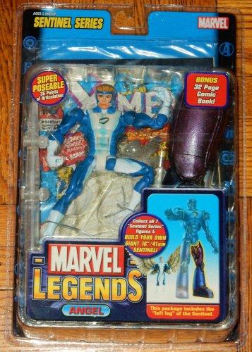 MARVEL LEGENDS SENTINEL SERIES WAVE 10 BLUE ANGEL 6 IN ACTION FIGURE 2005 TOYBIZ X-MEN CLASSICS NEW