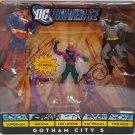 DC UNIVERSE CLASSICS WALMART EXCLUSIVE GOTHAM CITY 5 FIGURE FIVE PACK 2009 MATTEL SUPERMAN BATMAN