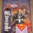 SUPERMAN DC SUPERHEROES STEEL ACTION FIGURE CHROME VARIANT MATTEL SELECT SCULPT UNIVERSE CLASSICS
