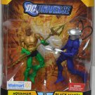 DC UNIVERSE CLASSICS WALMART EXCLUSIVE AQUAMAN BLACK MANTA UNDERSEA ASSAULT ACTION FIGURE 2 PACK