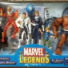 MARVEL LEGENDS FANTASTIC 4 FOUR BOX BOXED SET 2004 TOYBIZ DR DOOM THING HUMAN TORCH INVISIBLE WOMAN