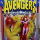 AVENGERS EARTH'S MIGHTIEST HEROES SERIES SCARLET WITCH ACTION FIGURE 1997 TOYBIZ MARVEL COLLECTOR